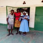 The first Baby delivered in the Health facility the very night of opening the community